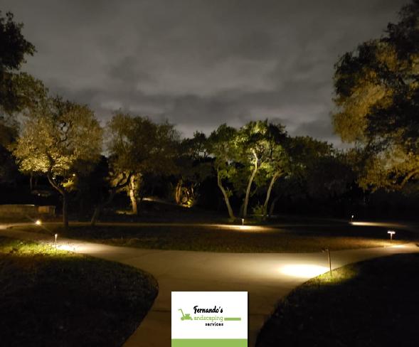 Landscape Lighting Fernando S Landscaping Services